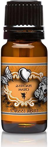Peaches & Cream Premium Grade Fragrance Oil - 10ml - Scented
