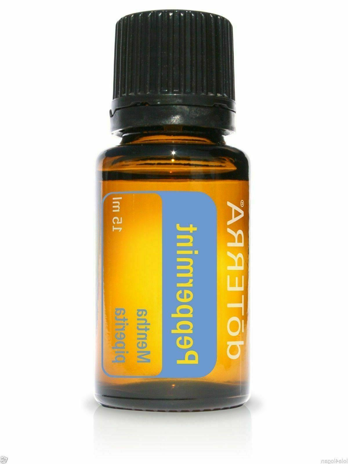 doTERRA Peppermint Essential 15ml New Sealed 11/2023