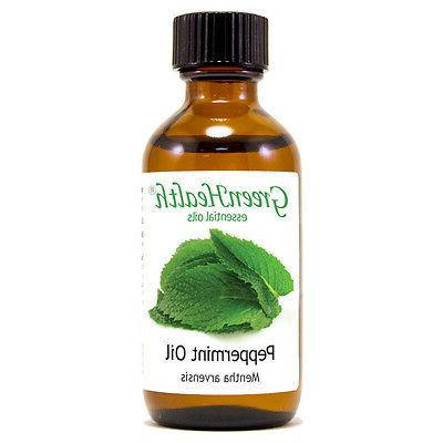 2 fl oz Peppermint Essential Oil 100% Pure - GreenHealth