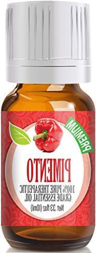 Pimento 100% Pure, Best Therapeutic Grade Essential Oil - 10