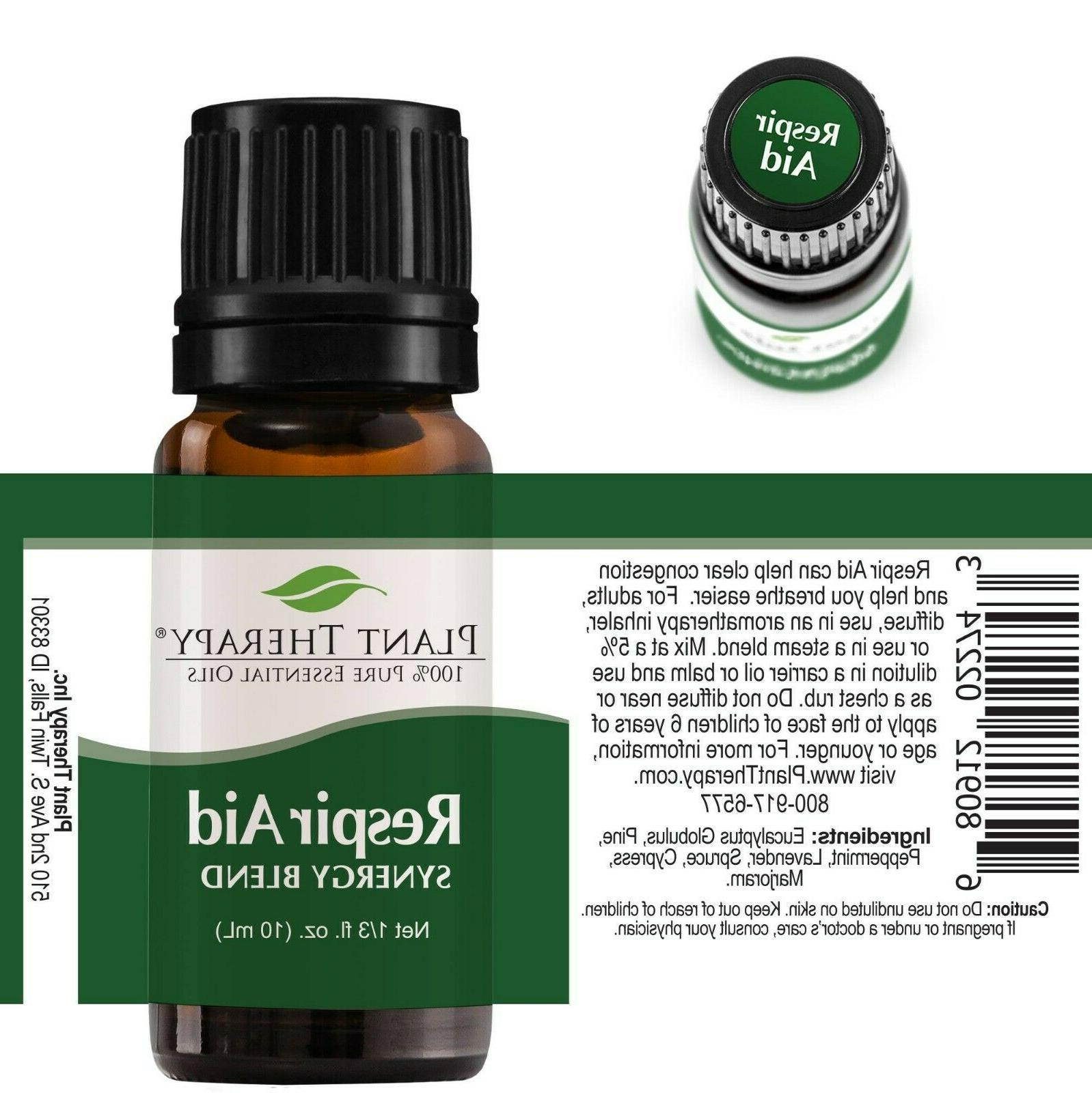Plant Oil Respir Blend Pure, Sinus Congestion Clearing