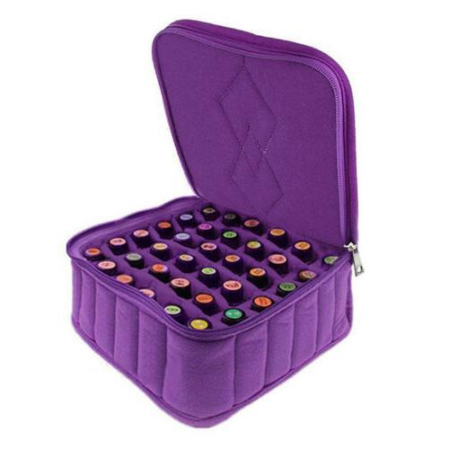 Portable 36 Bottles Essential Oil Carrying Case Holder Stora