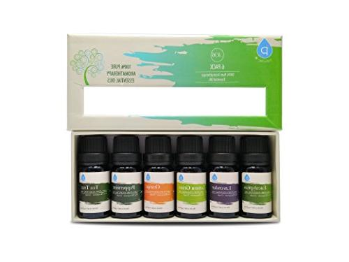 Pursonic 100% Aromatherapy Gift Pack , 10ML