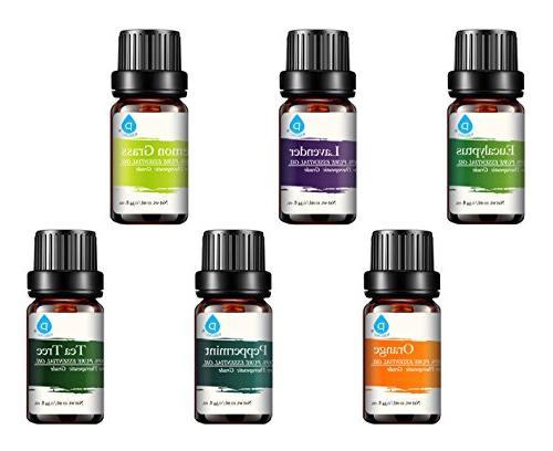 Pursonic 100% Pure Essential Aromatherapy Gift