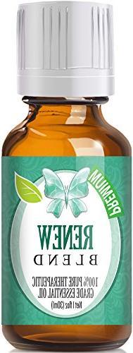 Renew Blend 100% Pure, Best Therapeutic Grade Essential Oil