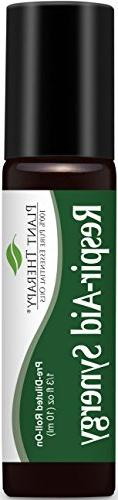 Respir-Aid Synergy Essential Oil Blend. 100% Pure, Pre-Dilut