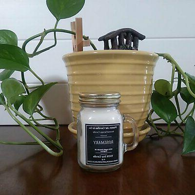 Rosemary - Oil Candles | Soy | | Essential O