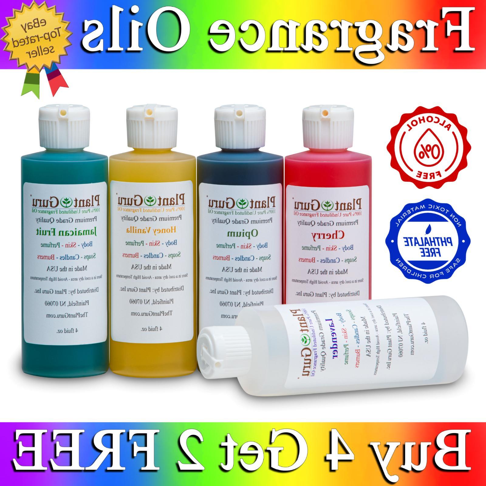 4 oz Fragrance Oil For Candle Soap Incense Making Burners Sc