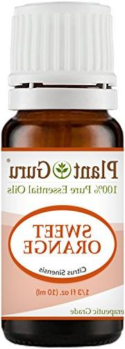 Sweet Orange Essential Oil 10 ml 100% Pure Undiluted Therape