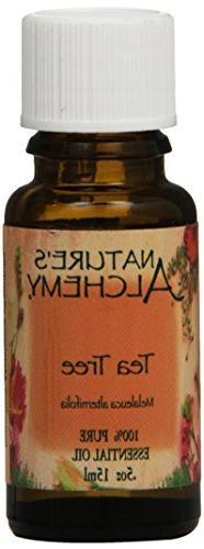 Nature's Alchemy 100% Pure Essential Oil Tea Tree 0.5 fl oz