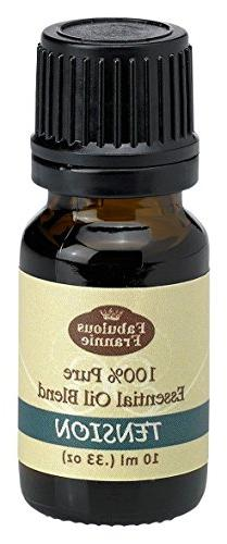 Tension Essential Oil Blend 100% Pure, Undiluted Essential O