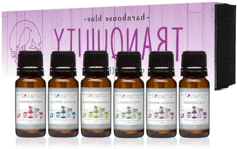 Tranquility Premium Grade Fragrance Oil Gift Set - 6/10Ml Bo