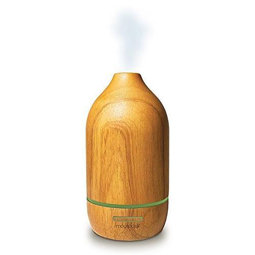 SpaRoom Natura Wooden Oil Diffuser Therapeutic Aromatherapy 100ml
