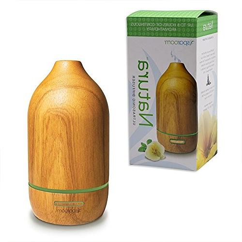 SpaRoom Wooden Oil Aromatherapy Misting,