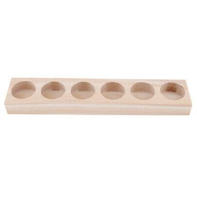 1Pc Wooden Essential Displaying Hold Bottle