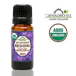 US Organic 100% Pure Lavender Essential Oil  - USDA Certifie