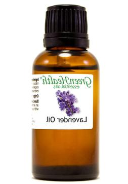 1 fl oz Lavender Essential Oil Pure Undiluted by GreenHealth