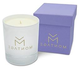 Lavender Chamomile & Geranium Soy Wax Candle in gift box- Sw