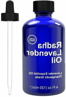 Radha Beauty Lavender Essential Oil 4 Oz. - 100% Natural  Th