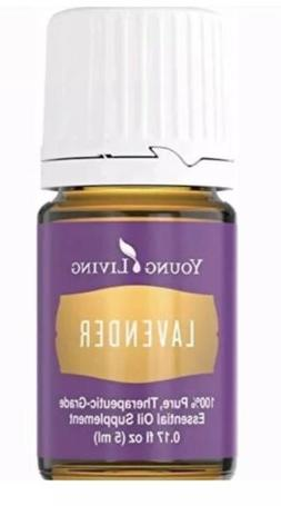 Lavender Essential Oil 5ml by Young Living NEW FREE SHIPPING