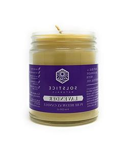 Lavender Scented All Natural 100% Pure Beeswax Aromatherapy