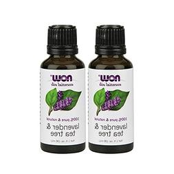 Now Lavender Tea Tree Oil Blend  1 fl.oz