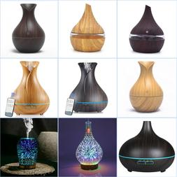 USA Essential Oil Ultrasonic Aroma Aromatherapy Diffuser Air