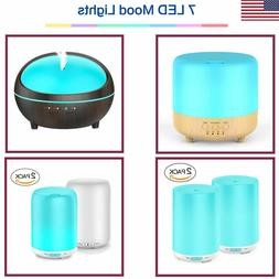 LED Ultrasonic Essential Oil Humidifier Diffuser Mist Aromat