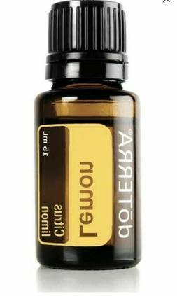 doTERRA Lemon Essential Oil 15ml, New Sealed FREE SHIPPING E