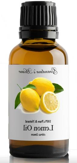 Lemon Essential Oil - 30 mL 100% Pure and Natural Free Shipp
