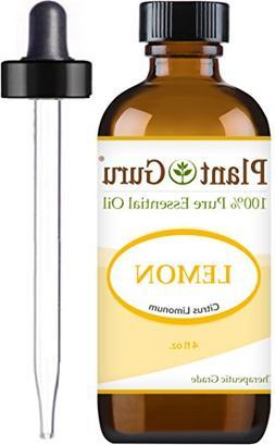 Lemon Essential Oil 4 oz 100% Pure Undiluted Therapeutic Gra
