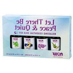 Now Let There be Peace & Quiet - Relaxing Essential Oils Kit