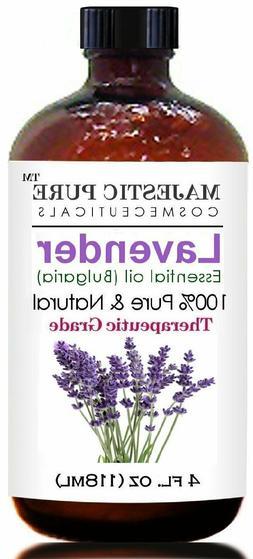 Majestic Pure Lavender Oil Natural,  Premium Quality Blend o