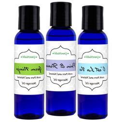 GreenHealth Massage Oil Sampler Set -Free Shipping