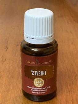 New Sealed 15ml Young Living Essential Oils Thieves Blend 10