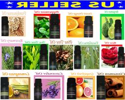 Essential Oils 10 mL 100% Pure and Natural THERAPEUTIC GRADE