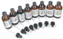 Pure Essential Oils / Glass Dropper 4 Oz. High Quality All N