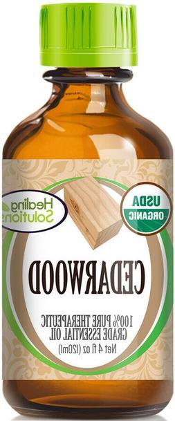 Organic Cedarwood Essential Oil