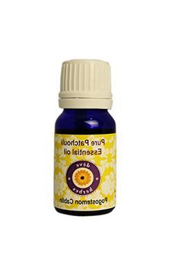 Deve Herbes Pure Patchouli Essential Oil 10ml  - 100% Natura