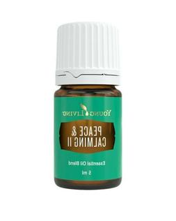 Young Living Peace & Calming II Essential Oil - 5ml - New &