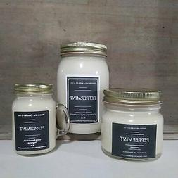 Peppermint Essential Oil - Essential Oil Candle | Soy Candle