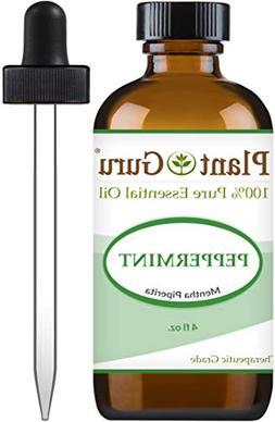 Peppermint Essential Oil 4 oz 100% Pure & Therapeutic Grade