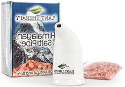 Refillable Pink Himalayan Salt Inhaler with Pink Himalayan C