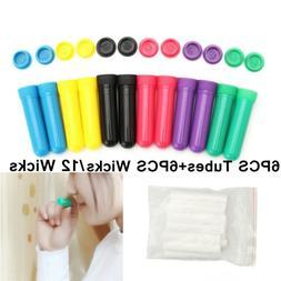 PP Material Essential Oil Diffuser Nasal Inhaler Tubes Wicks