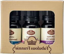 Pure Essential Oil Set - 3 Pack Sets - Choose Your Favorite