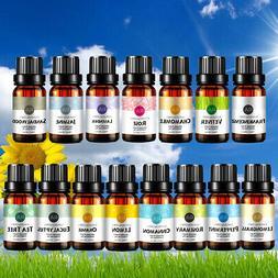 Pure Essential Oils Natural 5x 10ml Therapeutic Grade Aromat