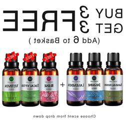 RA 30ml Aromatherapy Essential Oils Sandalwood Vetiver Rose