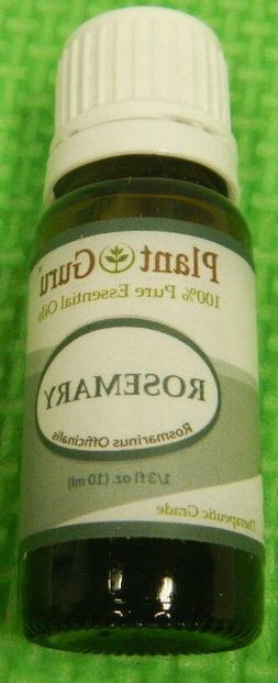 Plant Guru - Rosemary - Essential Oil 100% Pure 5ml Therapeu