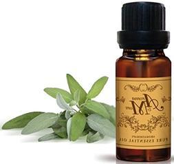Sage  Essential Oil 100%    10 ml -Health