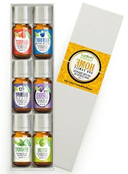 Essential Oil Set - Home & Family Set 100% Pure, Best Therap